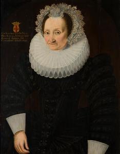 Portret van Catharina de Rode van Heeckeren (?-1620)