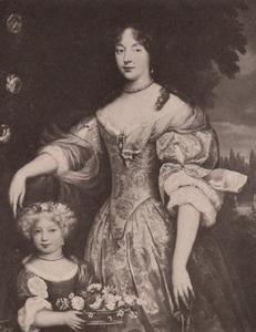 Dubbelportret van een vrouw en kind uit de familie Van Beyeren van Schagen