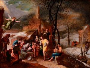 Aanbidding der herders
