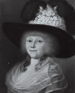 Portret van Anna Geertruida van Rappard (1752-1831)