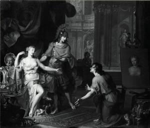 Alexander geeft Campaspe aan Apelles