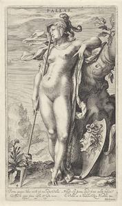 Minerva bij een boom