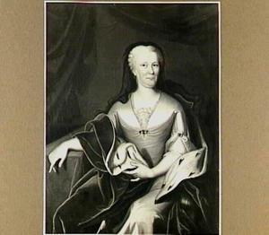Portret van Maria Louise van Hessen Kassel