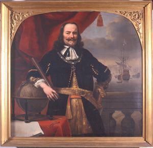 Portret van Michiel Adriaensz. de Ruyter (1607-1676)