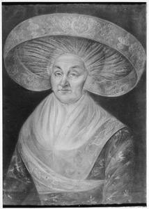 Portret van Janke Halbertsma (1736-1810)