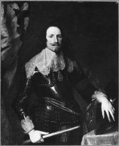Portret van François Thomas de Carignan, prins van Savoye (1596-1656), opperbevelhebber en Gouverneur-Generaal van de Spaanse Nederlanden