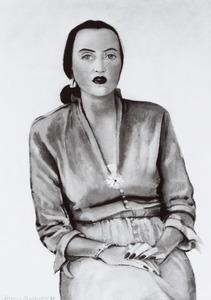 Portret van Olga Enid MacInroy (1908-1977)