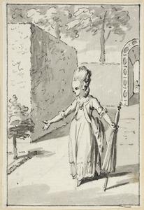 Illustratie voor 'Gods wijsheid' in de Kleine gedichten voor kinderen door H. van Alphen