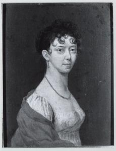 Portret van Gijsberta Maria Carolina barones van Spaen (1774-1846)