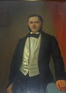 Portret van Petrus Jacobus 't Hooft (1827-1882)