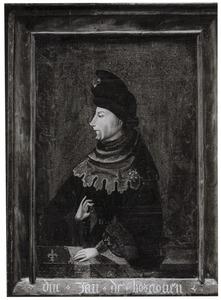 Portret van Jan zonder Vrees, hertog van Bourgondië