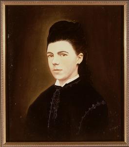 Portret van Francisca Henrietta Cornelia Maria de Keijzer (1853-1928)
