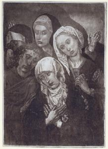 De treurende heilige vrouwen en H. Johannes