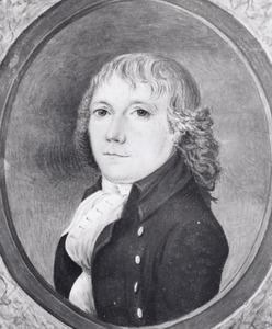 Portret van P. van Wijk
