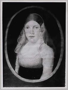 Portret van Christina Johanna Grootholtman (1760-1831)