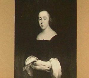 Portret van een vrouw, 1652