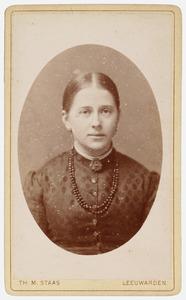 Portret van Anna Maria Catharina Huber (1862-1947)