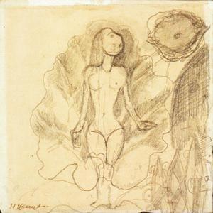 Venus (voorstudie Pan)