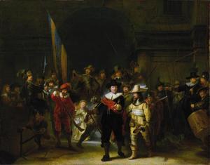 Korporaalschap van kapitein Frans Banning Cocq en luitenant Willem van Ruytenburch