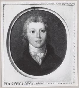 Portret van Robertus Joan Castendijk (1783-1853)