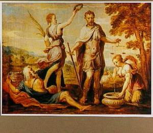 Allegorische voorstelling van Publius Cornelius Scipio Africanus Maior als toonbeeld van rechtvaardigheid en gematigdheid