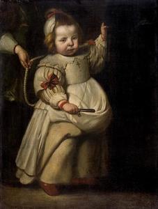 Portret van een Elisabeth de Vos (jongste dochter van Cornelis de Vos)