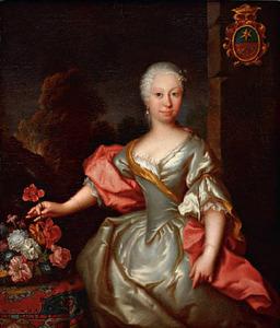 Portret van Sara Catharina Mooy (1708-1795)