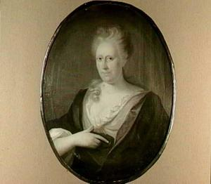 Portret van mw. C. Hoogwinkel