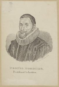 Portret van Festus Hommius (1576-1642)