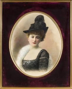 Portret van Albertine Marie van Hangest d' Yvoy (1867-1949)