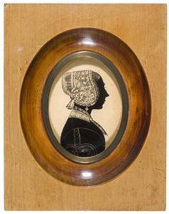 Portret van Johanna Wilhelmina Agatha Tjardijna Klein (1813-1893)