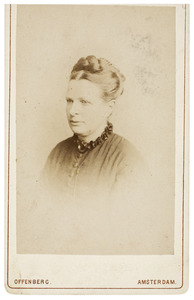 Portret van Anna Dorothea Huyser van Reenen (1824-1899)