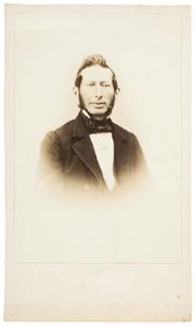 Portret van Johan de Wal (1816-1892)