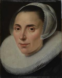 Porttret van een onbekende vrouw