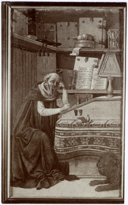 H. Hiëronymus in zijn studeervertrek