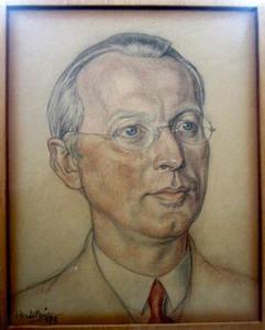 Portret van Herman Meijer (1892-1971)