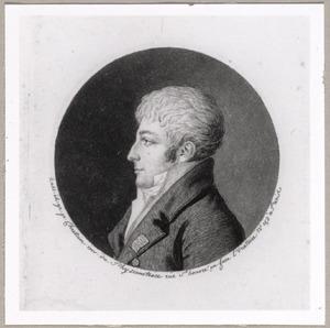 Portret van Patrice Charles Guislain de Coninck (1770-1827)