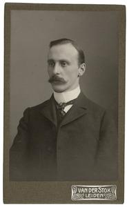 Portret van Carl Wilhelm Vollgraff