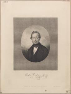 Portret van Hendrik Jan Krieger Schumer (....-1864)