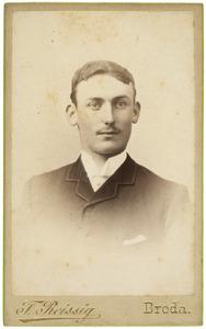 Portret van waarschijnlijk Johannes Mattheus Benteyn (1869-1946)