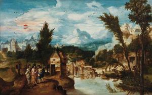 De reis naar Emmaüs (Lucas 24: 13-29)