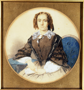 Portret van Helena Cornelia Salm (1840-1858)
