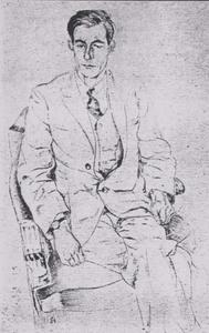Portret van Jan Jacob Slauerhoff (1898-1936)