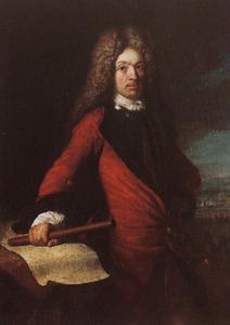 Portret van een veldheer, mogelijk prins Eugenius van Savoye (1663-1736)