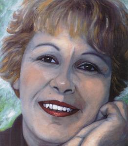 Portret van Anja van der Lem