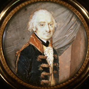 Portret van Hendrik Willem Jacques von Stamford ( -1807)