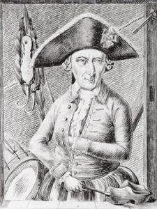 Portret van Pieter Magito