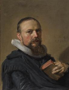 Portret van Samuel Ampzing (1590-1632)