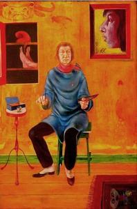 Meisje met wijnvlek
