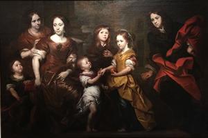 De zeven kinderen van een onbekende koopmansfamilie